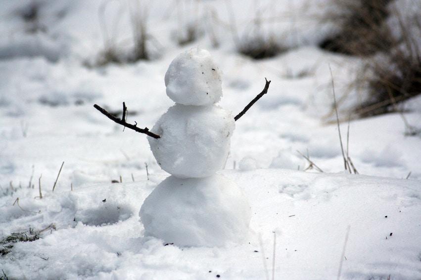 snowman dimensions