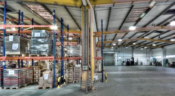 material handling hub